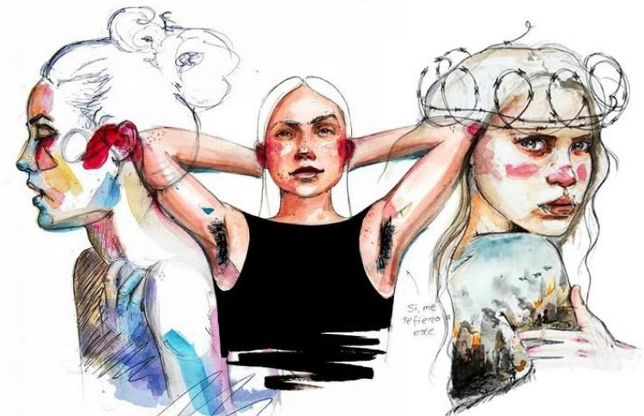 Enamórate de tu cuerpo: 9 cañeras ilustradoras feministas que debes conocer
