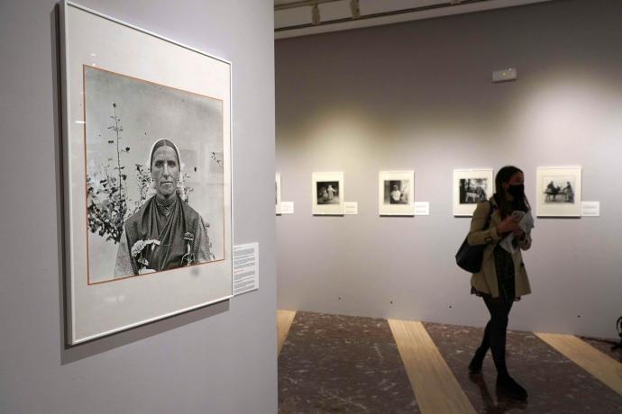 Exposición de retratos de mujeres de Eulalia Abaitua