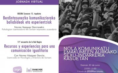 Jornada con Emakunde – Recursos y experiencias para una comunicación igualitaria